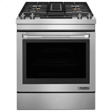 "Jenn-Air® 30"" Dual-Fuel Downdraft Range - Pro Style Stainless"