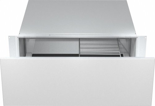 """ESW 6380 Gourmet food warming drawer, 30"""" wide and 10 13/16 """" high with the low temperature cooking function - much more than a warming drawer."""