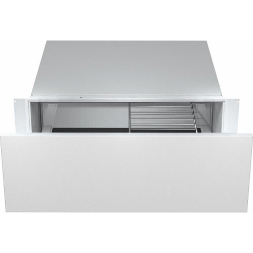 ESW 6380 30 inch warming drawer with 10 13/16 inch front panel height with the low temperature cooking function - much more than a warming drawer.