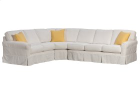 408 Slip Cover Sectional