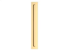 Slimline Flush Pull Solid In Polished Brass