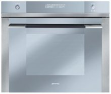 """70CM (approx 27 ) """"Linea"""" Electric Multifunction Oven Stainless Steel and Glass"""