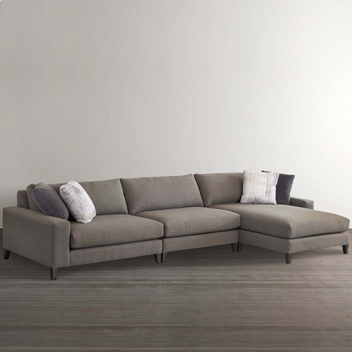 MODERN-Terafino Small Left Chaise Sectional