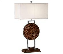 Pangolin Faux Macassar Table Lamp
