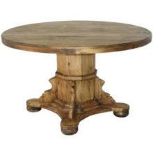 "Honey : 48"" x 30"" Ixtapa Round Wood Top Dining Table"