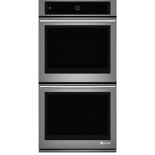 "Jenn-Air® 27"" Double Wall Oven with MultiMode® Convection System, Euro-Style Stainless Handle"
