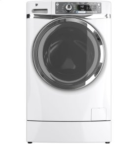 GE® ENERGY STAR® 4.8 DOE cu. ft. capacity RightHeight Design Front Load washer (DEMO 350G)