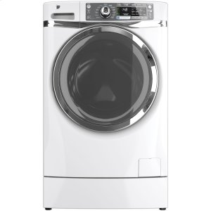 GE®ENERGY STAR® 4.8 DOE cu. ft. capacity RightHeight Design Front Load washer