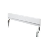 FrigidaireFrigidaire White Slide-In Range Adjustable Metal Backguard
