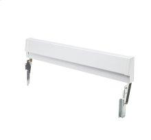 Frigidaire White Slide-In Range Adjustable Metal Backguard