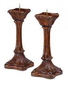 Pair of Art Nouveau Candlesticks