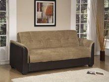 Beige Sofa Bed With Storage