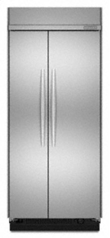 """Side-by-Side Non-Dispensing 21.1 cu. ft. 36"""" Width Architect® Series II"""