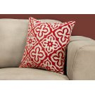 "PILLOW - 18""X 18"" / RED MOTIF DESIGN / 1PC Product Image"