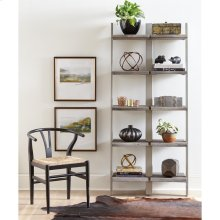 Waverly - Bookcase Frame - Sandblasted Gray Finish