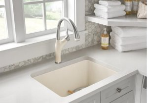 Blanco Artona With Pull-down Spray - Metallic Gray