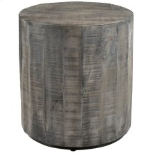 Eva Accent Table in Distressed Grey
