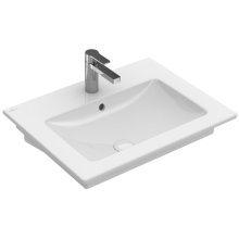 """Washbasin 24"""" Angular - White Alpin"""
