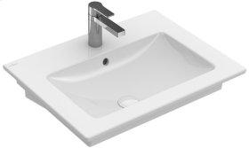"""Washbasin 24"""" Angular - White Alpin CeramicPlus"""