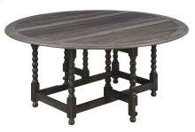 Emerald Home Wallingford Round Double Drop Leaf Dining Table Pine D750-12