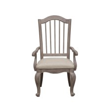 Simply Charming Spindle Back Arm Chair