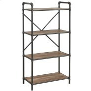 Bronx 4 Tier etagère in Antique Black Product Image