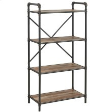 Bronx 4 Tier etagère in Antique Black
