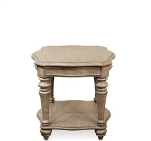 Corinne Side Table Sun-drenched Acacia finish