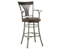"Karol Swivel Bar Chair, 19""x17"" x48"""