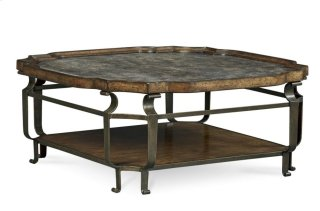 Continental Square Cocktail Table - Vintage Melange