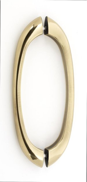 C855 Series Back-to-Back Pull G855-8 - Polished Antique