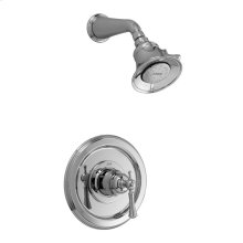 Pressure Balance Shower Set - Lever Handle - Polished Chrome