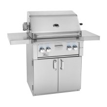 """Fully Assembled Deluxe 2-Door Grill Cart for 30"""" Alturi"""