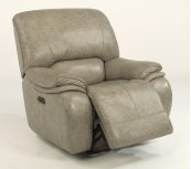 Tobin Leather Power Gliding Recliner with Power Headrest