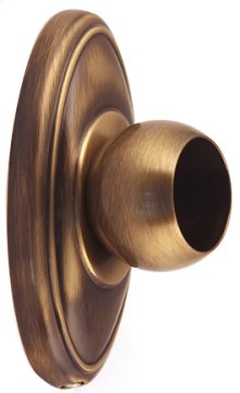 Classic Traditional Shower Rod Brackets A8046 - Antique English