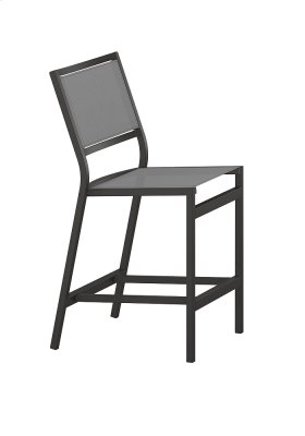 Cabana Club Sling Armless Counter Height Stool