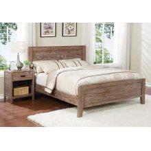 Alstad Bed - Full, Pine Cone Finish