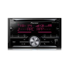 Double DIN CD Receiver with Enhanced Audio Functions, Improved Pioneer ARC App Compatibility, MIXTRAX ® , Built-in Bluetooth ® , and SiriusXM-Ready