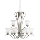 Wedgeport Collection Chandelier 9Lt Fluorescent NI Product Image