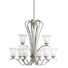 Wedgeport Collection Chandelier 9Lt Fluorescent NI