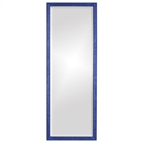 Colfax Mirror - Glossy Royal Blue