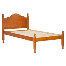 Reston Panel Bed, Twin Honey Pine