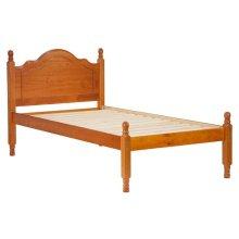 Reston Panel Bed, Twin Honey Pine
