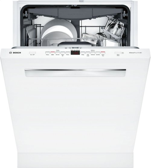 "500 Series 24"" Pocket Handle Dishwasher SHP865WF2N White"