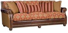 Julianna Leather/Fabric Sofa