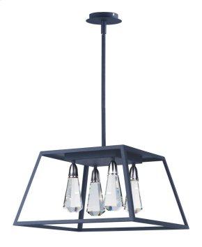 Silhouette 4 Light LED Pendant