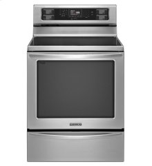 KitchenAid® 30-Inch 5-Element Electric Freestanding Range, Architect® Series II - Stainless Steel