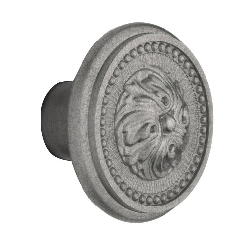 Distressed Antique Nickel 5050 Estate Knob