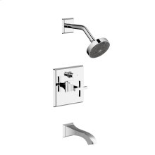 Tub and Shower Trim Leyden (series 14) Polished Chrome (1)