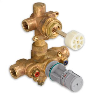 2-Handle Thermostat W/ Built-In 2-Way Diverter Rough Valve Body